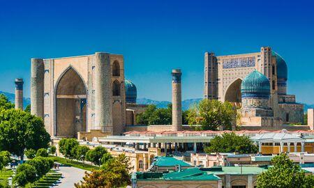 Photo for Bibi-Khanym Mosque in Samarkand, Uzbekistan. - Royalty Free Image