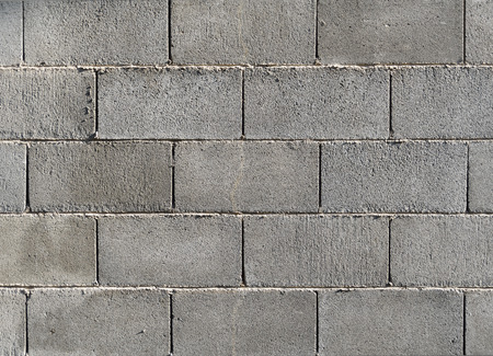 Concrete block wall background  texture.