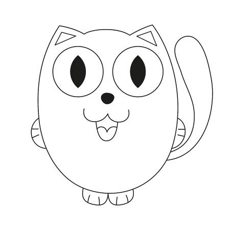 Kostenlos Zum Ausdrucken Malvorlagen Katze Für Kinder | Kittens ... | 450x450