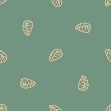Illustration pour jungle seamless leaf repeat pattern design. Great for fashion textile design - image libre de droit