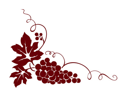 Design element -- grape