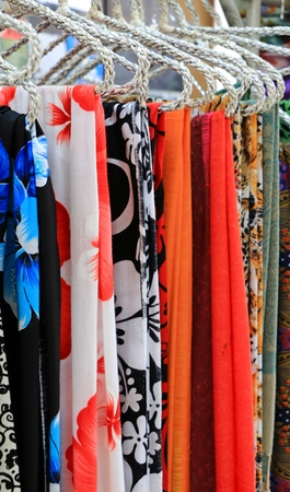 The Multiple colorful scarf or Hanky in thailand