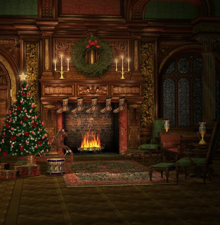 Christmas time illustration