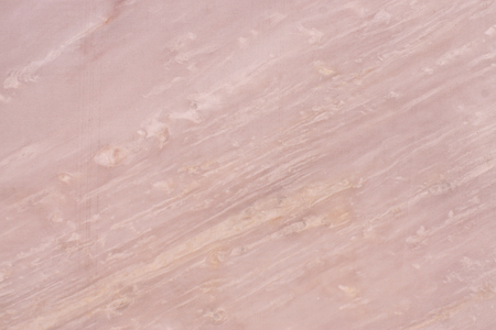 Photo for Natural pink marble, marble texture with diagonal light streaks, called Roso Egeo. - Royalty Free Image