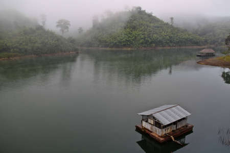 River view in the cool morning