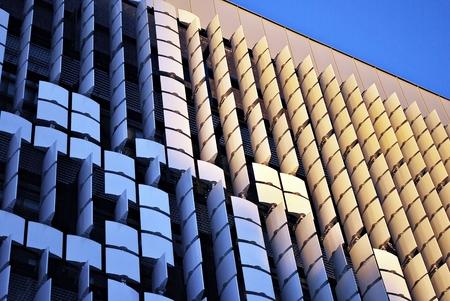 Modern architecturally designed Facade