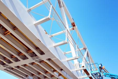 Viaduct under construction