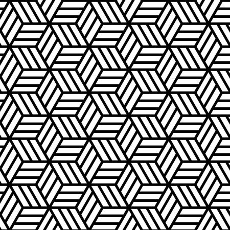Ilustración de Abstract Geometric Seamless Pattern. Vector endless texture. - Imagen libre de derechos