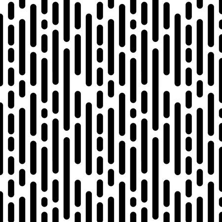 Ilustración de Seamless Pattern with Vertical Black Lines. Vector endless texture. - Imagen libre de derechos