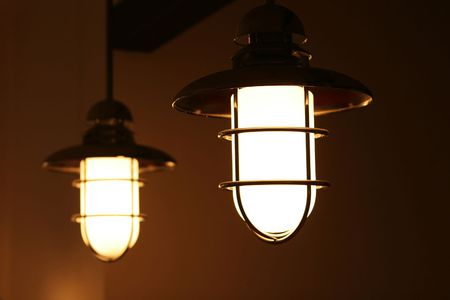 Two lamps.
