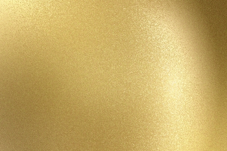 Foto de Glowing light gold stainless steel texture, abstract pattern background - Imagen libre de derechos