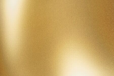 Foto de Texture of gold metallic polished glossy with copy space, abstract background - Imagen libre de derechos