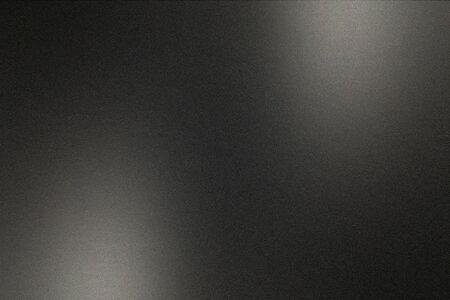 Photo pour Black brushed metal wall, abstract texture background - image libre de droit