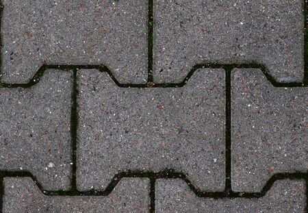 Photo for Detailed close up view on cobblestone street textures in high resolution - Royalty Free Image