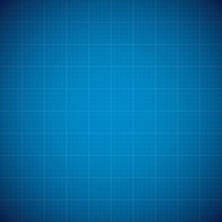 Blueprint architechture vector background with line grid