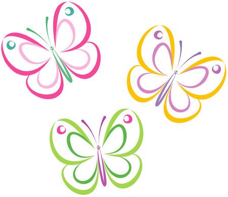 Foto de Butterflies (Vector) - Imagen libre de derechos
