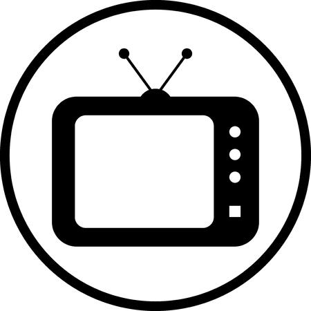 Illustration pour TV vector icon - image libre de droit