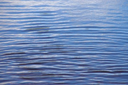Background image of ripples on some clear river water