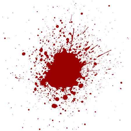 abstract splatter red color background