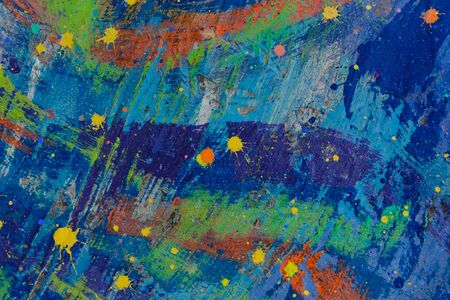 Photo for abstract watercolor paint splatter design background - Royalty Free Image