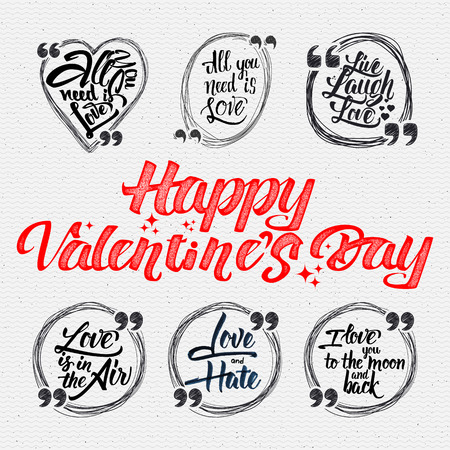 Happy valentine is day quotes. All you need is love, live laugh love, love is in the air, love and hate, i love you to the moon and back