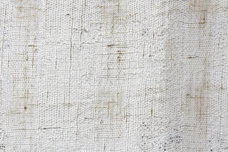 White natural linen canvas texture