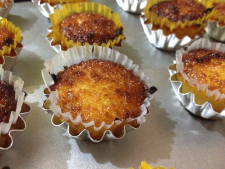 freshly homemade macaroons