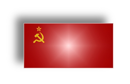 Civil and state flag and ensign of the Soviet Union from 1923 to 1991