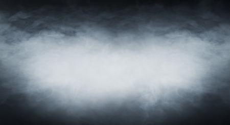 Photo pour Smoke texture over blank black background - image libre de droit