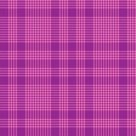 Illustration pour Purple Glen Plaid textured seamless pattern suitable for fashion textiles and graphics - image libre de droit