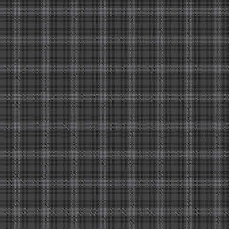 Illustration pour Grey Glen Plaid textured seamless pattern suitable for fashion textiles and graphics - image libre de droit
