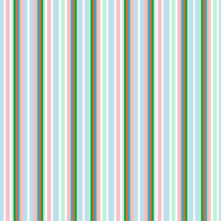 Illustration for Pastel vertical striped seamless pattern background suitable for fashion textiles, graphics - Royalty Free Image