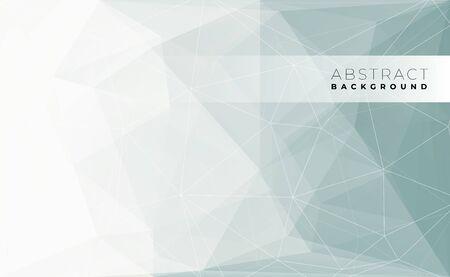 Illustration pour Abstract modern triangle polygonal background, vector illustration. - image libre de droit