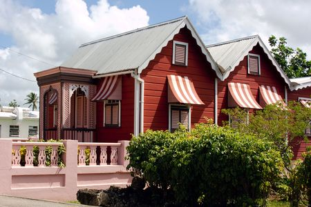 Wood-House in Barbados
