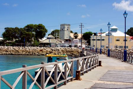 Speightstown in Barbados,
