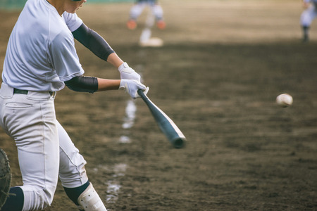 Photo for High School Baseball player - Royalty Free Image