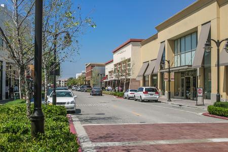 Photo pour Scenery of the shopping street - image libre de droit