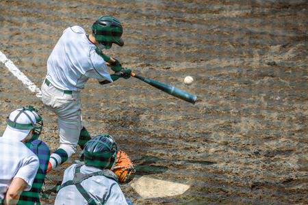 Foto für Scenery of the baseball match - Lizenzfreies Bild
