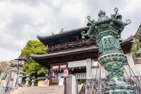 Daimon gate of Kotohira-gu at the Shrine