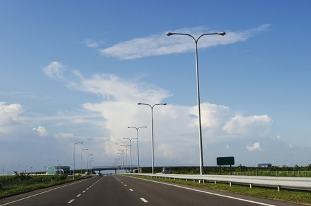 modern highway, transportation or travel background
