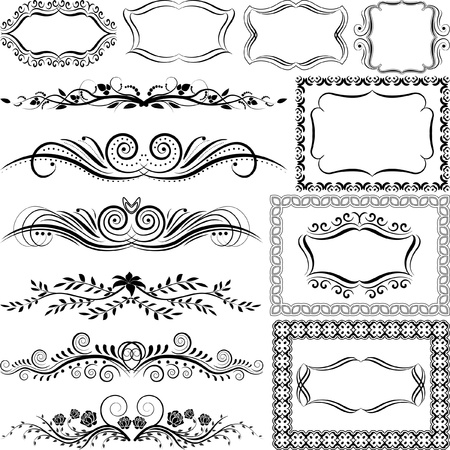 ornaments and frames