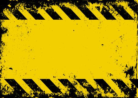Illustration pour grunge danger background - image libre de droit