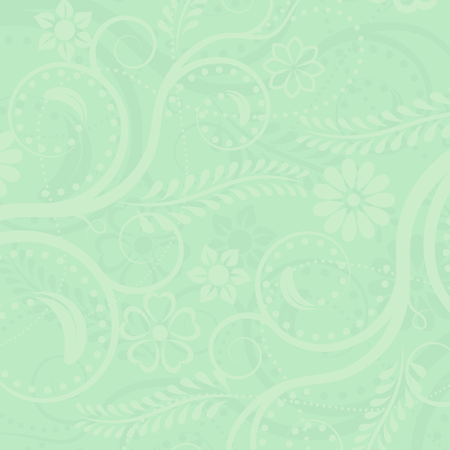 Illustration pour green floral background - image libre de droit
