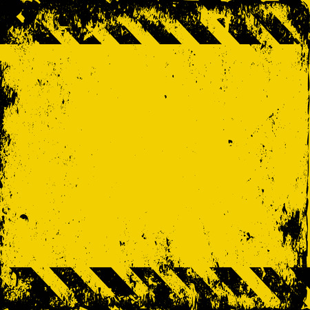 Ilustración de grunge hazard background - Imagen libre de derechos