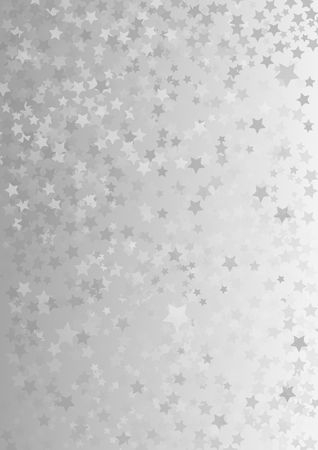 Ilustración de gray background with star shapes - Imagen libre de derechos
