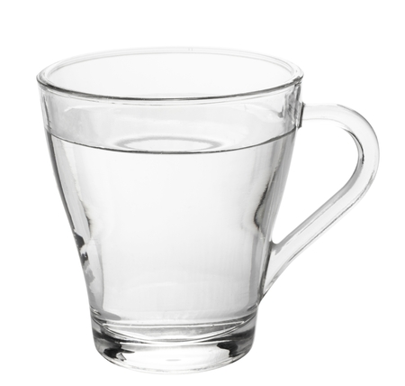 Photo pour water glass isolated on white background - image libre de droit