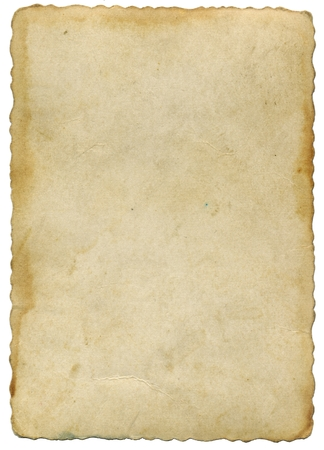 Photo for Old yellowed parchment - Royalty Free Image