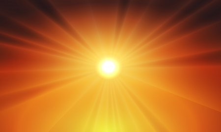Sun light vector background - fully editable and can be re-size to any limit