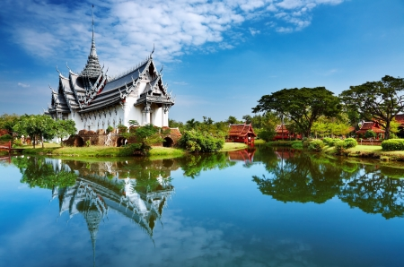 Sanphet Prasat Palace, Ancient City, Bangkok, Thailand