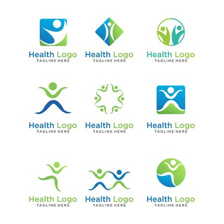 Illustration pour modern Creative dental care clean blue teeth logo vector - image libre de droit